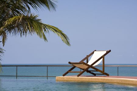 Beautiful tropical beach in Thailand.
