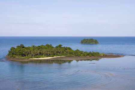 Scenic view from Koh Chang island. Thailand. Stock Photo - 7162879