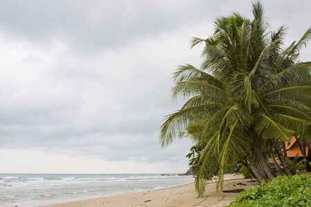 Tropical beach in Thailand. photo