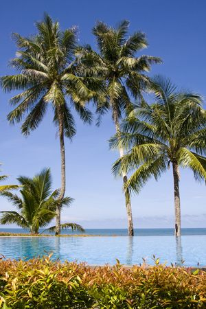 Beautiful tropical beach at island Koh Chang , Thailand. Stock Photo - 7297549