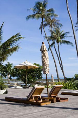 Beautiful tropical beach at island Koh Chang , Thailand. Stock Photo - 7317429