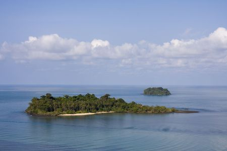 Scenic view from Koh Chang island. Thailand. Stock Photo - 7327607