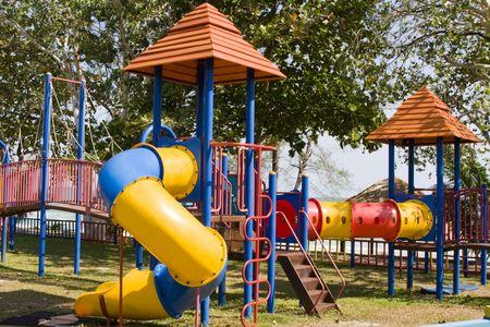 Colorful Playground  Stock Photo - 7328379