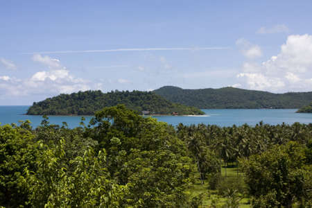 Scenic view from Koh Chang island. Thailand. Stock Photo - 7343175