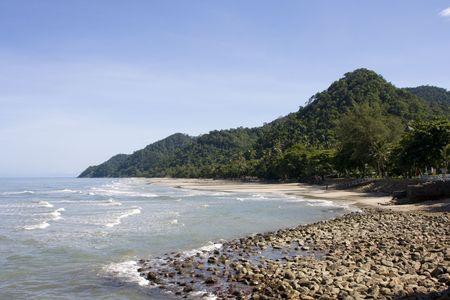 Tropical beach at island Koh Chang , Thailand. Stock Photo - 7343146