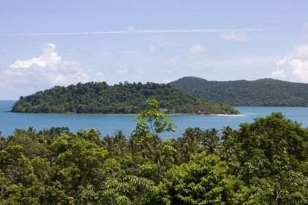Scenic view from Koh Chang island. Thailand. Stock Photo - 7343177