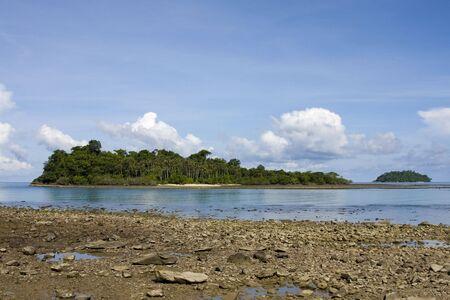 Tropical beach at island Koh Chang , Thailand. Stock Photo - 7343145