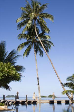 Beautiful tropical beach at island Koh Chang , Thailand. Stock Photo - 7343239