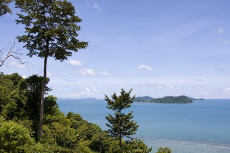 Scenic view from Koh Chang island. Thailand.  Stock Photo - 7434617