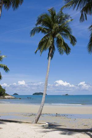 Beautiful tropical beach at island Koh Chang , Thailand. Stock Photo - 7546898