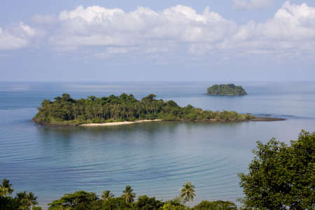 Scenic view from Koh Chang island. Thailand. Stock Photo - 7708195