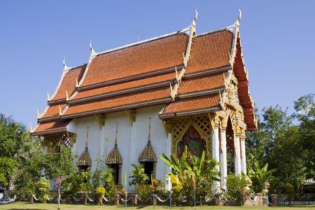 chang: Buddhist temple on Koh Chang island, Thailand