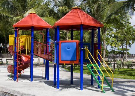 An empty playground  Stock Photo - 7786441