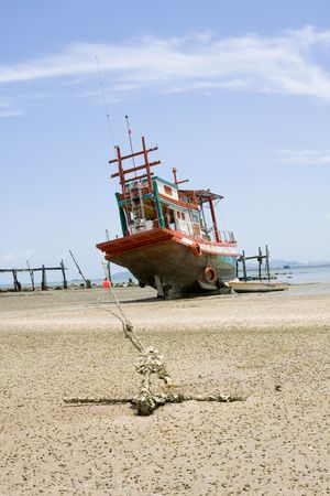 Fishing boat .Thailand .  Stock Photo - 7893434