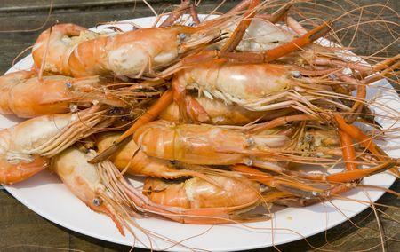 rnanimal: Boiled shrimp