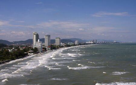 hua hin: Summer beach of Thailand . Hua Hin .