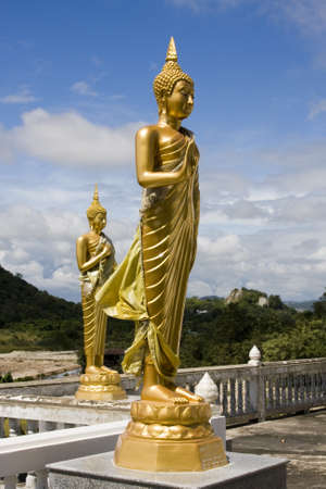Statue of Buddha in Hua Hin, Thailand photo