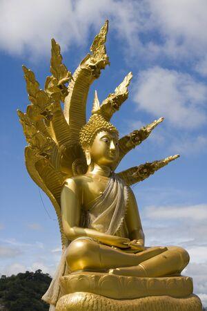 Statue of Buddha in Hua Hin, Thailand photo