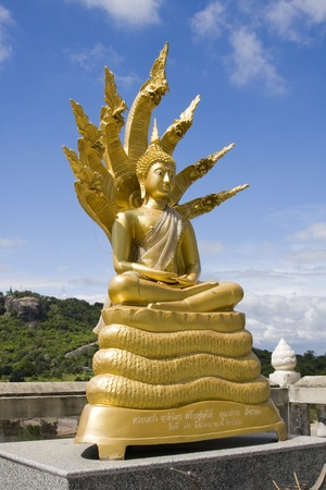 hua hin: Statue of Buddha in Hua Hin, Thailand