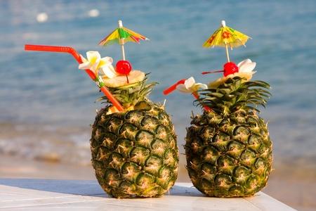 pi�as: Pi�a tropical c�ctel