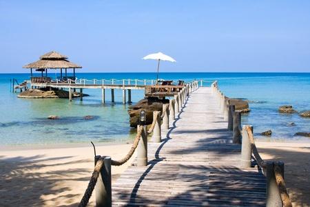 Beautiful tropical beach in Koh Kood , Thailand Stock Photo