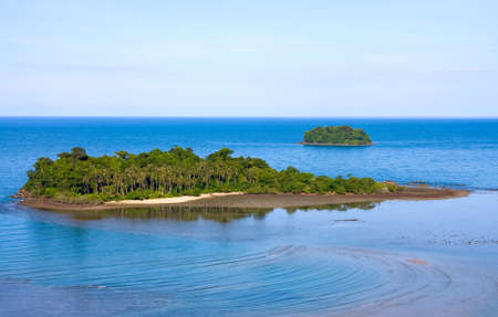 chang: Scenic view from Koh Chang island . Thailand .  Stock Photo