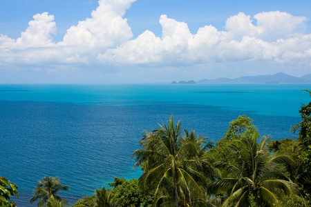 Scenic view from Koh Samui island . Thailand . Stock Photo - 9429048