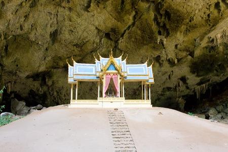 Pavillon in Phraya Nakorn cave nearby Hua Hin,  , Thailand . National Park Khao Sam Roi Yot. photo