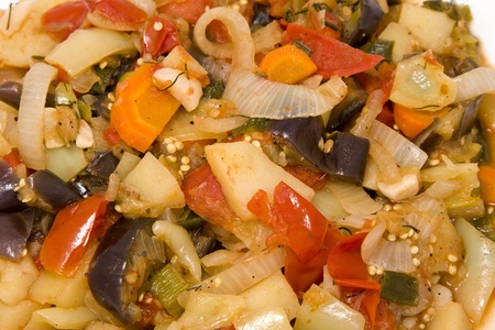Vegetable ragout photo