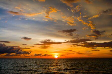 Sunset over the beach, Koh Kood, Thailand. Stock Photo - 12583238