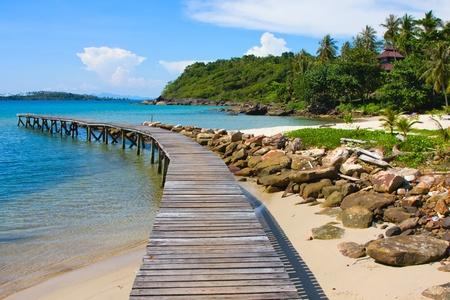 Beautiful tropical beach in Koh Kood , Thailand photo