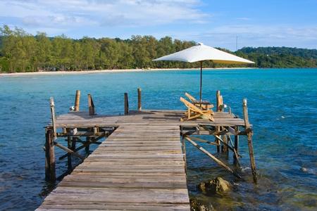 dyllic: Beautiful tropical beach in Koh Kood , Thailand Stock Photo