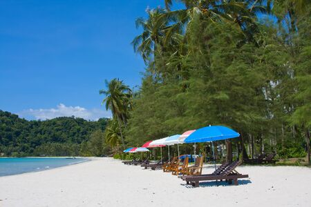 kood: Beautiful tropical beach at island Koh Kood, Thailand . Stock Photo
