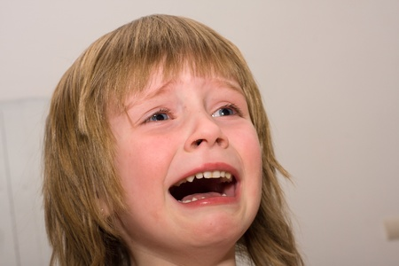 Child is crying Stock Photo - 13078650