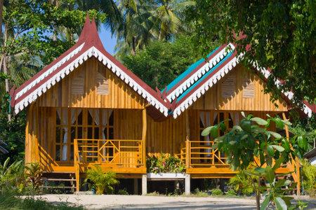 Tropical beach house Stock Photo - 13336934