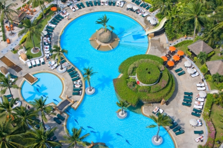 Pool view from the top in Thailand Stock Photo - 14223776