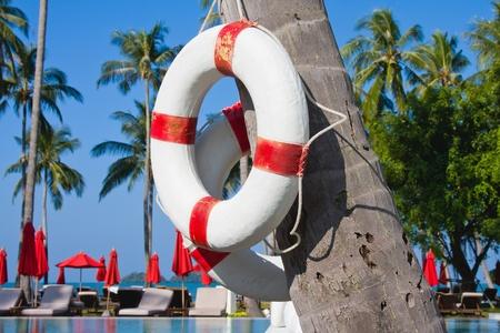 Beautiful tropical beach in Thailand photo