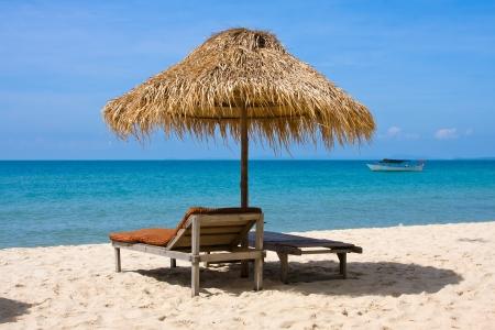 Beautiful tropical beach in Sihanoukville, Cambodia . Stock Photo - 14507983