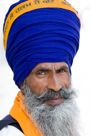 Sikh man in Amritsar, India. Stock Photo - 15910906