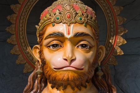 Hanuman statue in Rishikesh, India photo