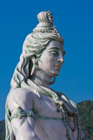 Shiva statue in Rishikesh, India Stock Photo - 16136564