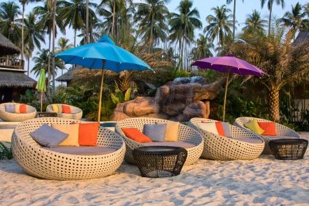 kood: Swimming pool on the beach. Island Koh Kood , Thailand . Stock Photo