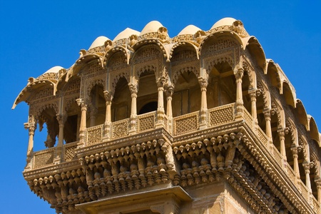 Palace of the Maharajah in Jaisalmer, the magnificent  photo