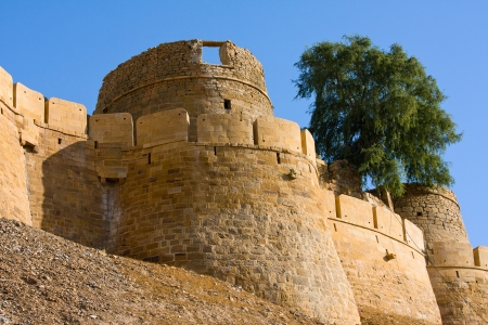 Jaisalmer fort, Rajasthan, India photo