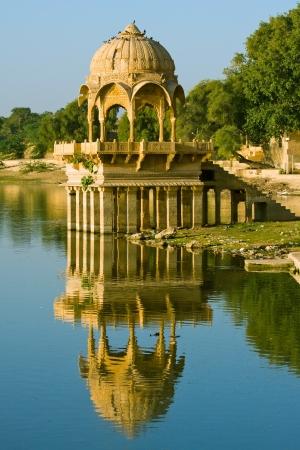 sagar: Gadi Sagar Gate, Jaisalmer, India Stock Photo