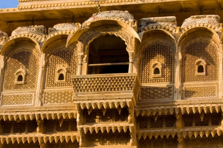 Palace of the Maharajah in Jaisalmer, the magnificent
