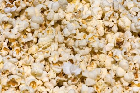Salted popcorn background Stock Photo - 18511652
