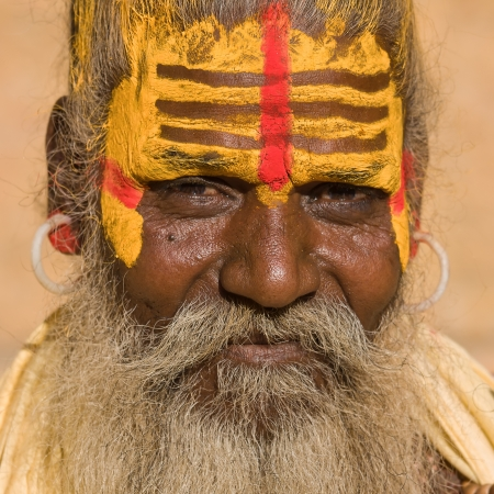 Indian sadhu (holy man) Stock Photo - 19750825