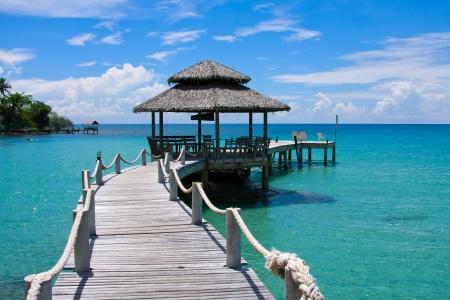 Beautiful tropical beach , Thailand photo