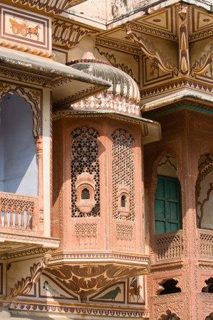 rajput: Haveli in Pushkar, India Editorial